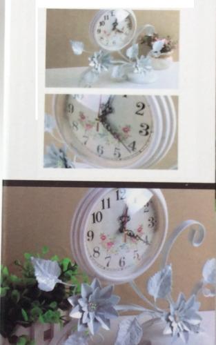 reloj mesa escritorio
