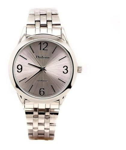 reloj metal hombre | dufour (1078)