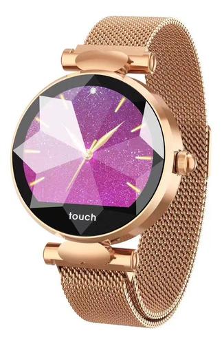 reloj metalico inteligente smartwatch y deportivo