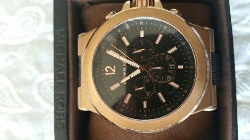 reloj michael korks oro rosa
