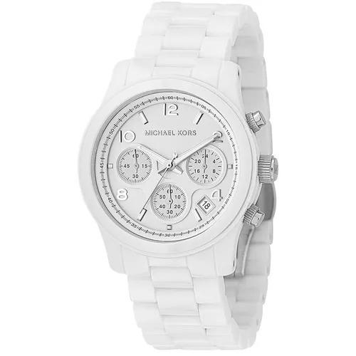 reloj michael kors 5292  blanco dama