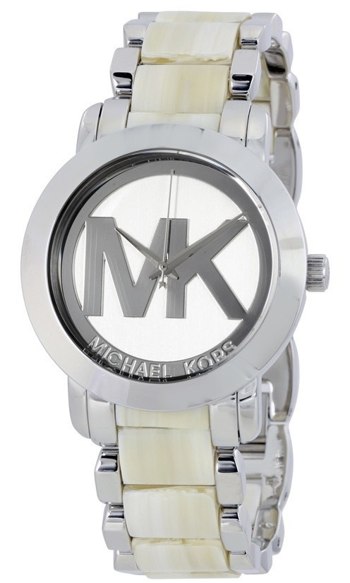 301a9042b6f1 reloj michael kors acero inoxidable y acetato mujer mk4304. Cargando zoom.