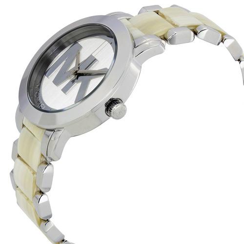 reloj michael kors acero inoxidable y acetato mujer mk4304
