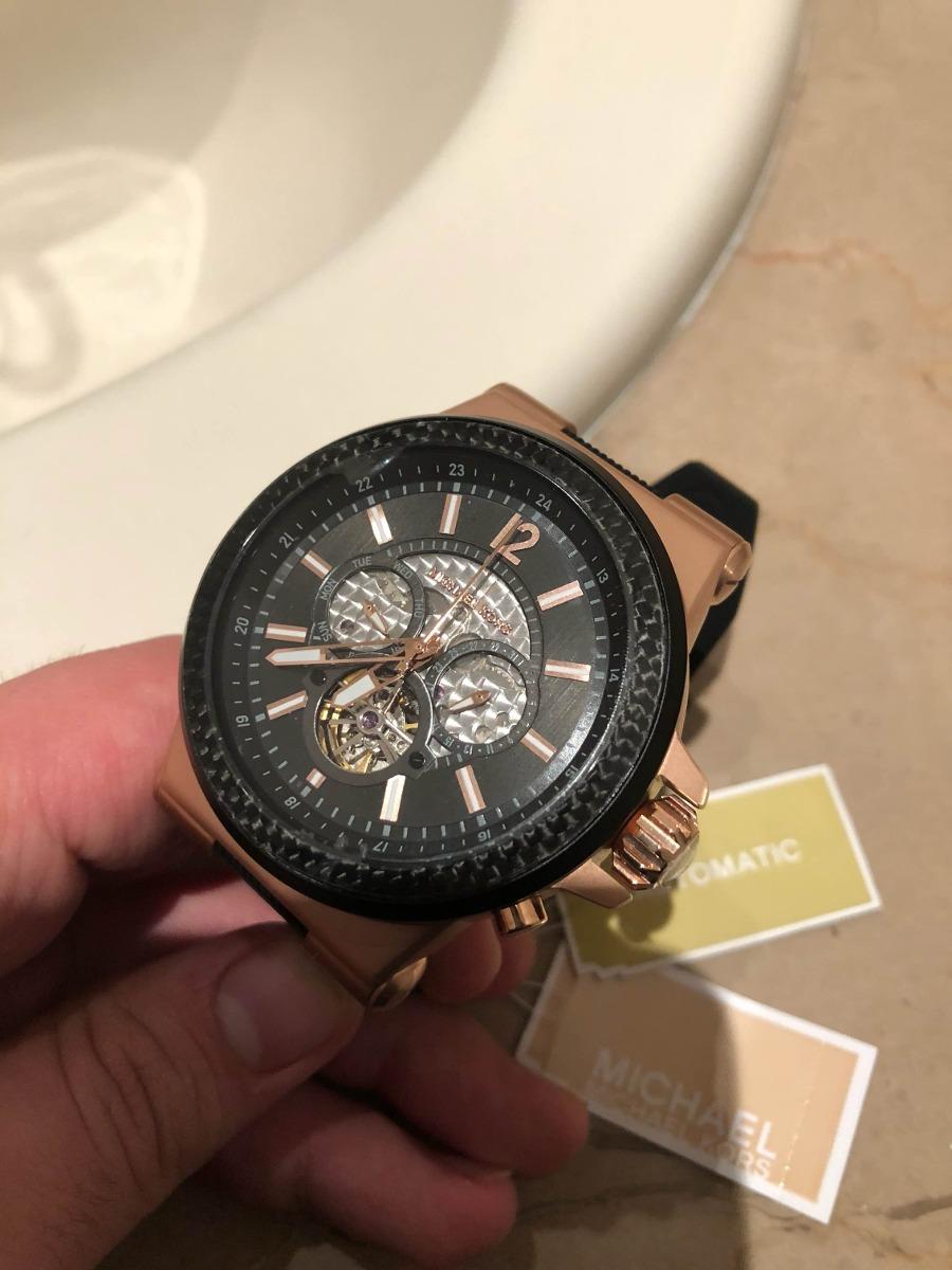 Fibra De Mk Michael Reloj Kors Carbono Automatico xrdBWCoe