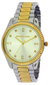 e8256eb7e282 Reloj Michael Kors Blake 2 Tonos Dorado Acero Mk3241