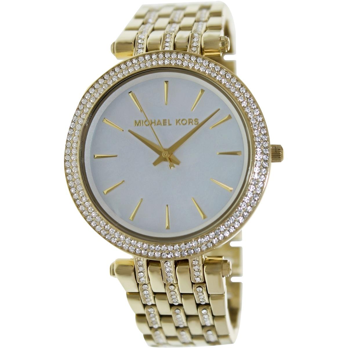 Mk3219 Para Reloj Mujer Nácar Kors Darci Michael DWEH9I2