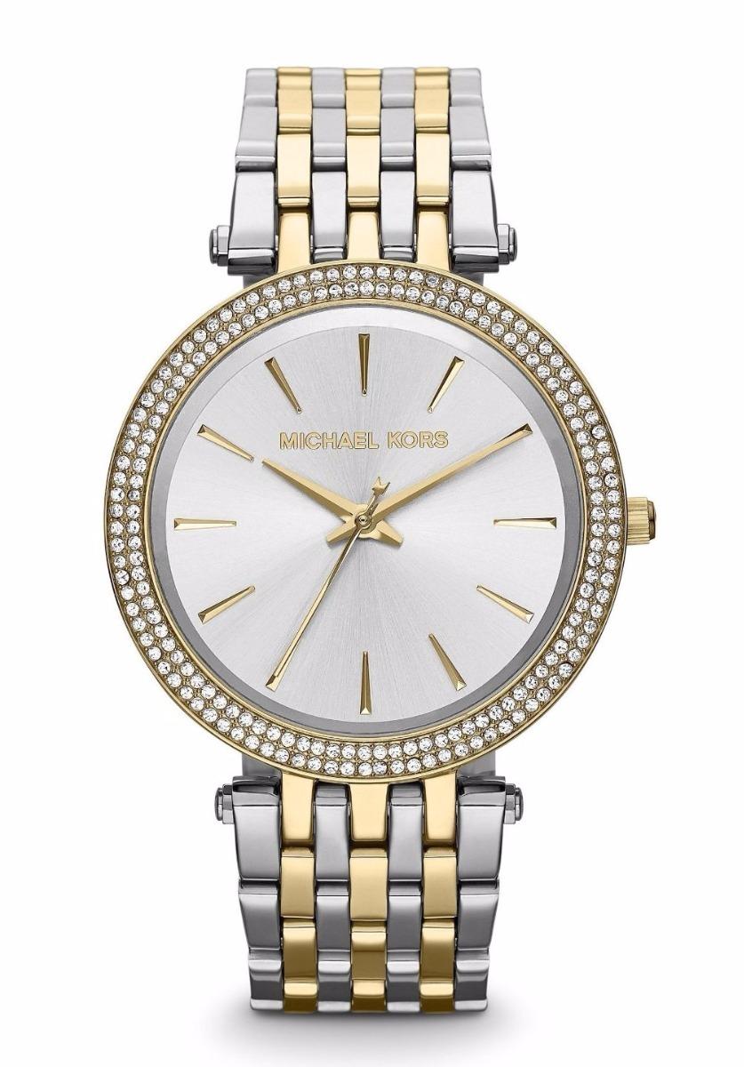 Darci Kors Plateado Reloj Dama Mk3215 Con Michael De Dorado EH2eW9DIY