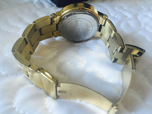 reloj michael kors dorado auténtico oferta navideña!
