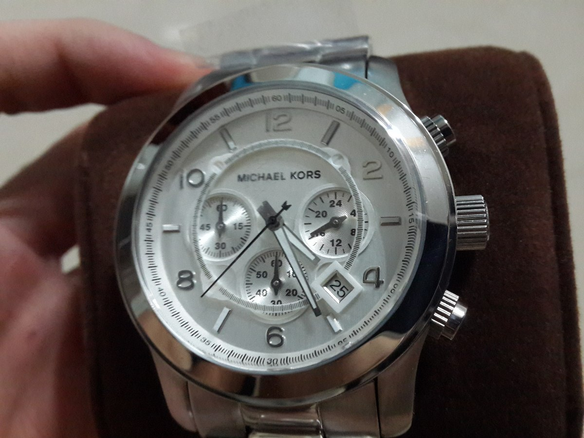 Nuevos Reloj Original Oversize En Hombre Caja Kors Michael stdhrQ