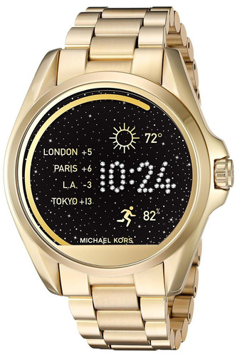 reloj michael kors inteligente smart watch gold caja sellada