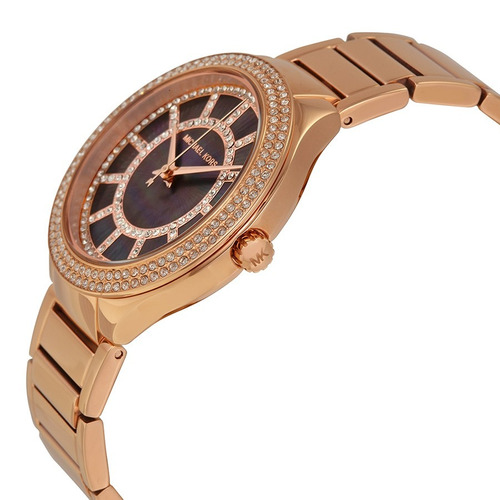 reloj michael kors kerry acero oro rosado mujer mk3397