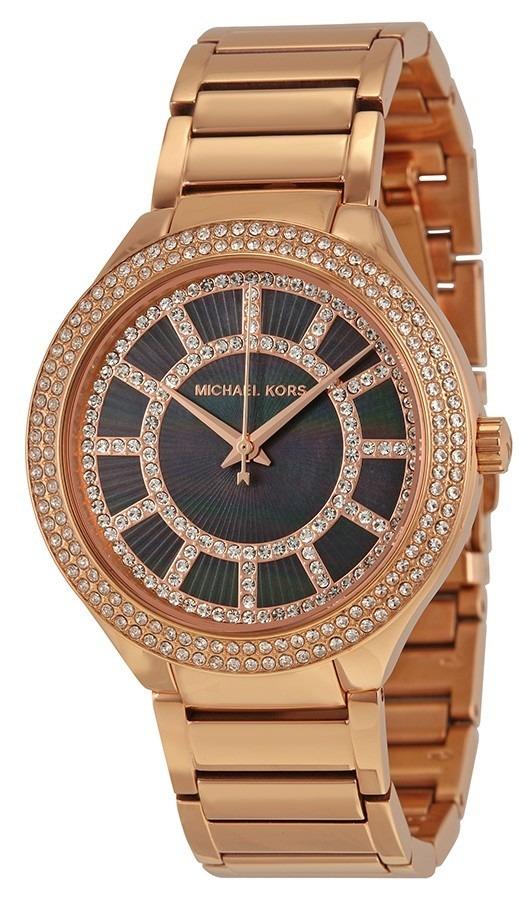 ce50eeaf9f67 reloj michael kors kerry acero oro rosado mujer mk3397. Cargando zoom.