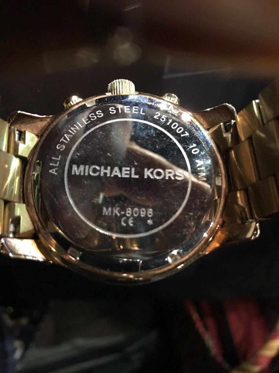 7d9f375f6265 reloj michael kors mercer rosa modelo  mk-8096. Cargando zoom.