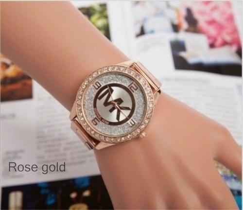 reloj michael kors mk importados color  rose gold