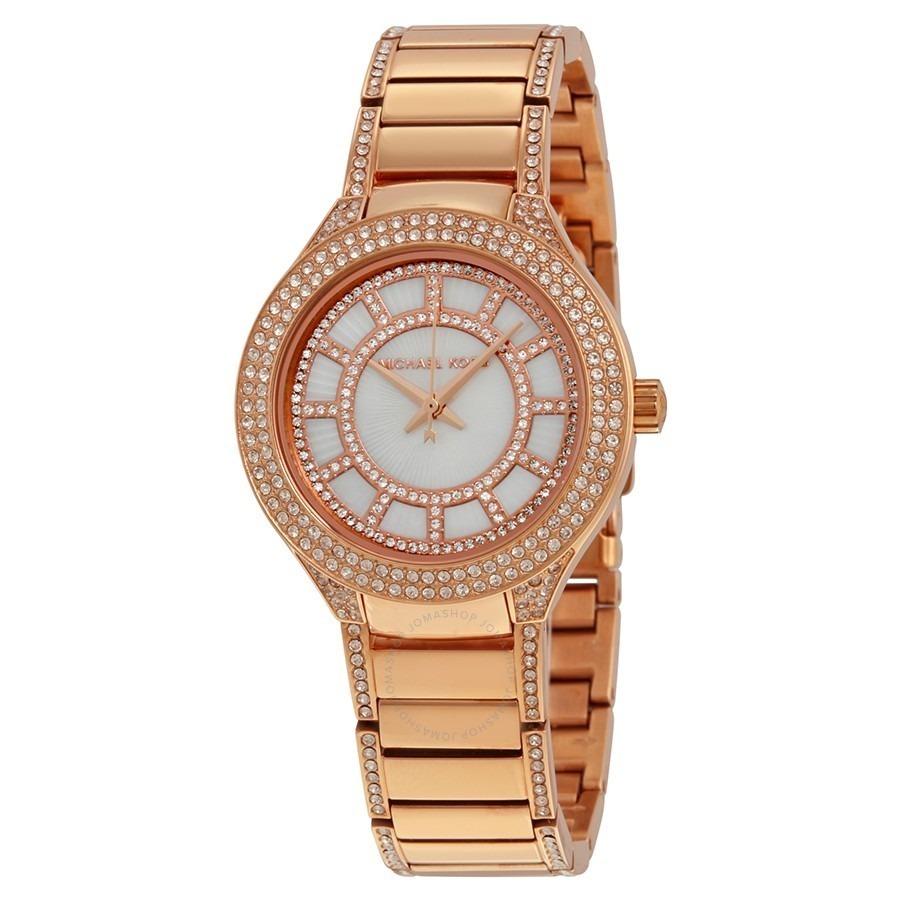 129df238ce16 reloj michael kors mk mk3443 oro rosado original dama. Cargando zoom.