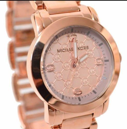 95f21b96d07c Reloj Michael Kors Mk3159 Original 100% Color Oro Rosado ...
