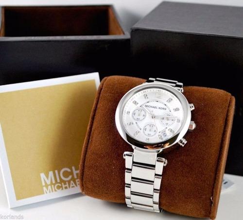 reloj michael kors mk5275 plateado