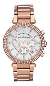 Reloj Michael Kors Mk5491 Gold Rose 100% Original Nuevo