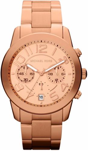 reloj michael kors mk5727 mercer 42mm cronógrafo fechero