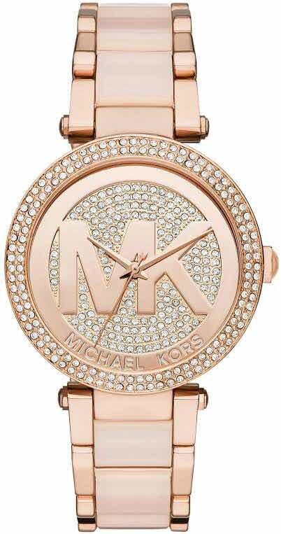 fadbc479582e Reloj Michael Kors Mk6176 100% Nuevo Y Original Para Dama ...