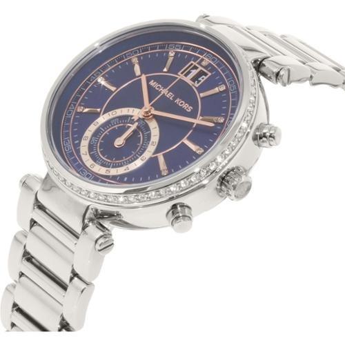 Pdama Inox Kors Mk6224 Reloj Cuarzoacero Plateado Michael Ybfyv67g