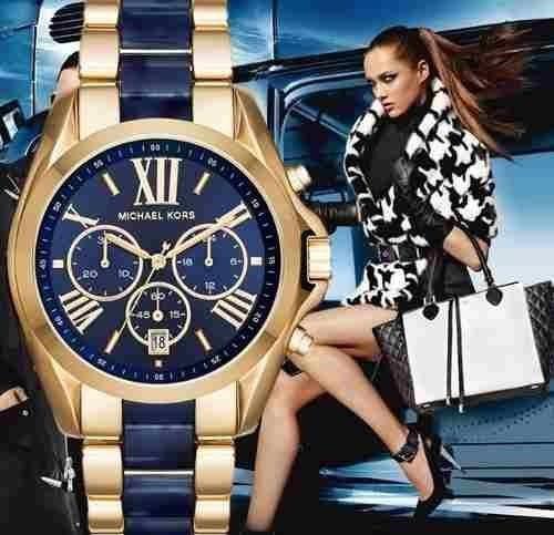 reloj michael kors mk6268 bradshaw unisex en caja