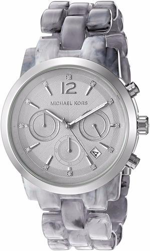reloj michael kors mk6310 color gris - dama