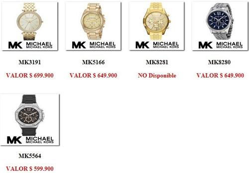 reloj michael kors mk8280 mens watch nuevo envio gtatis