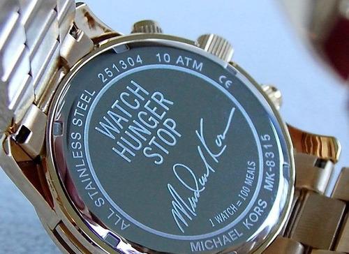 reloj michael kors mk8315 100 series nuevo original en caja