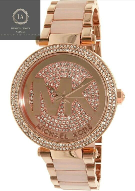 a47fb8ef080c Reloj Michael Kors Modelo Parker Mk6176 100% Original - S  550