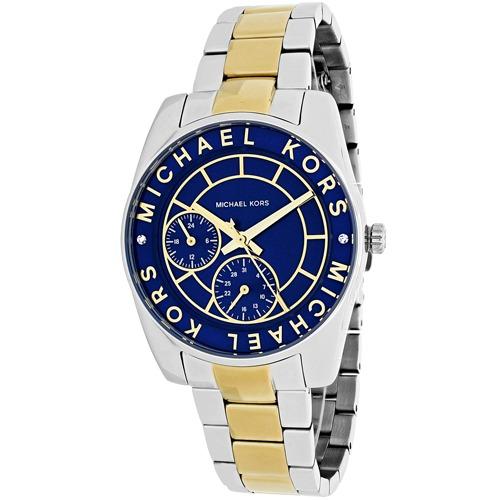 b3c576c854a7 Reloj Michael Kors Para Mujer Mk6195 Esfera Azul -   1.051.900 en ...