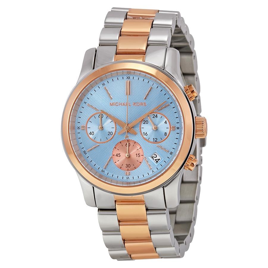 d9f9c7bdf136 Reloj Michael Kors Para Mujer Mk6166 Esfera Azul -   719.550 en ...