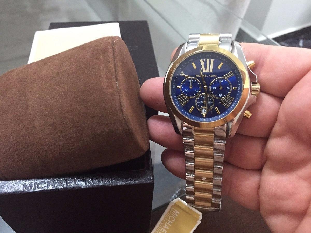4484fba222f5 Reloj Michael Kors Mujeres Bradshaw Bicolor Crono Mk5976 -   579.000 ...