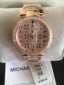 Mercado Lo En Reloj Mas Gratis Oro Moda Nuevo Mk Kors Envio Rosado rtsdQh