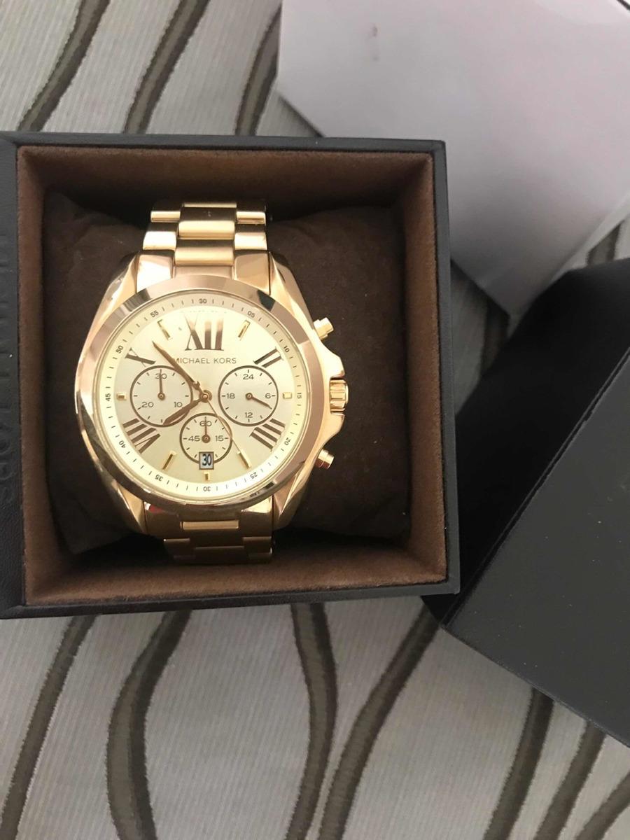 Para Dama Dorado Reloj Michael Mk 5605 Kors 76ygYbf