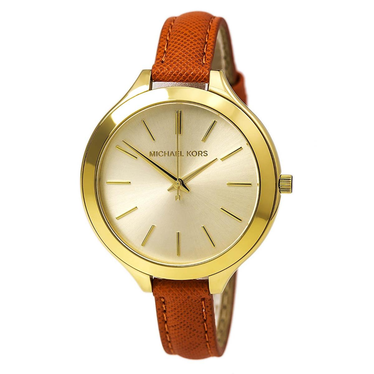 Mk2275 Reloj Correa Mujer Cuero Kors Para De Michael m80wyOvNn