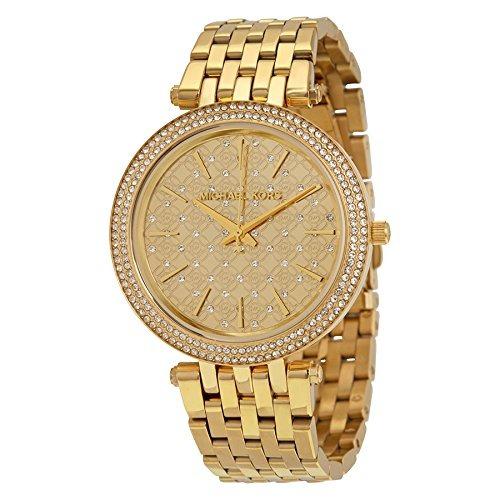 0e081850bafd Reloj Michael Kors Para Mujer Mk3398 Darci Dorado