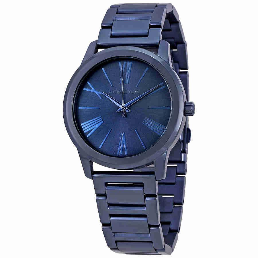 bbe2cd836c8c reloj michael kors para mujer mk3509 azul. Cargando zoom.