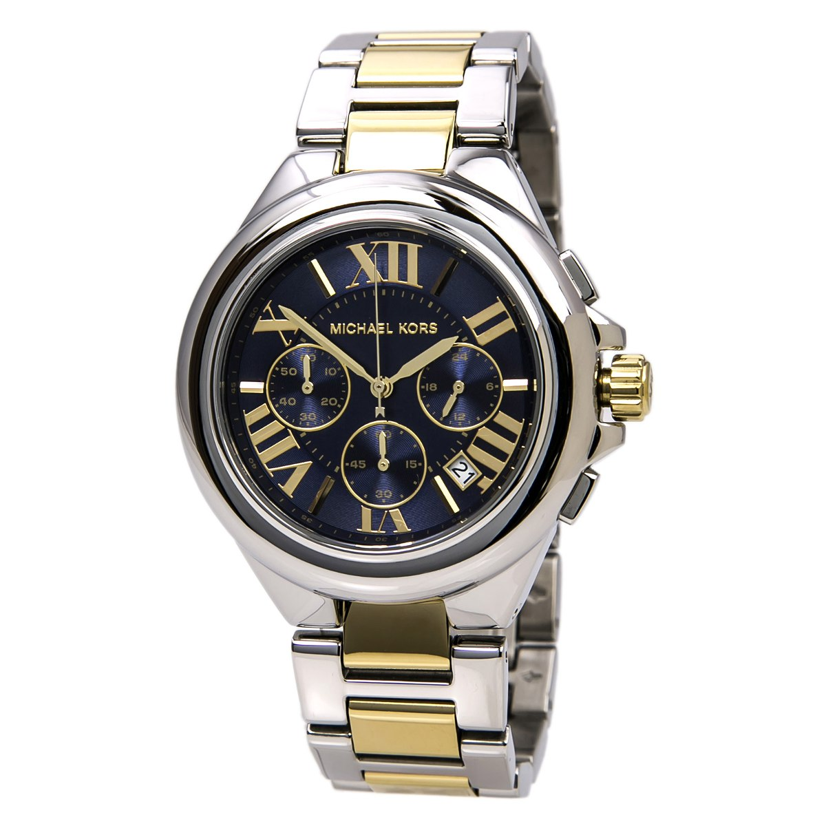 fb39c5dd8a53 Reloj Michael Kors Para Mujer Mk5758 Esfera Azul Y Pulsera -   824.550 en Mercado  Libre
