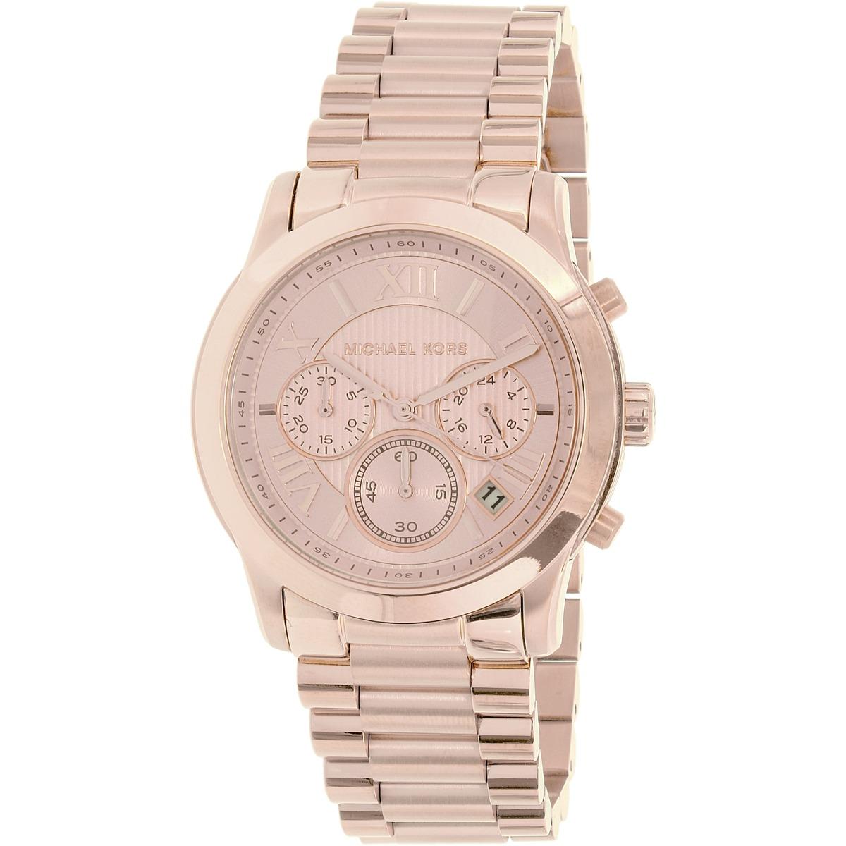 Reloj Michael Kors Para Mujer Mk6275 Esfera Rosa Rosa - $ 5,243.81 ...