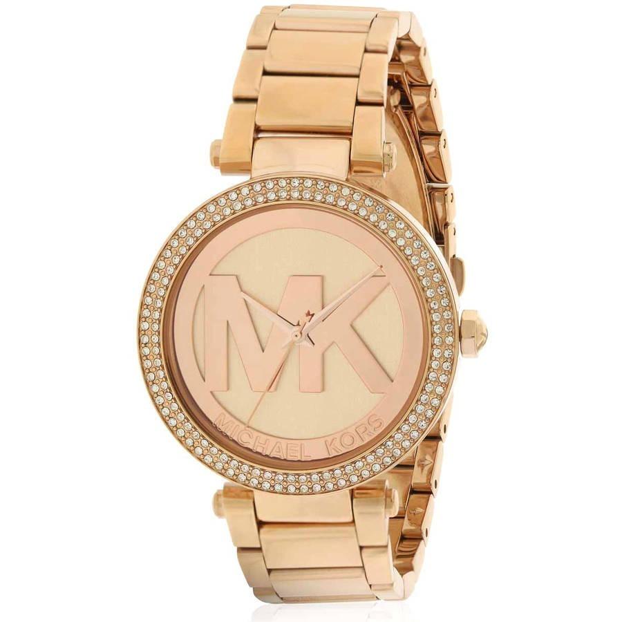 755a40e1d788 reloj michael kors parker color oro rosa p mujer mk5865. Cargando zoom.