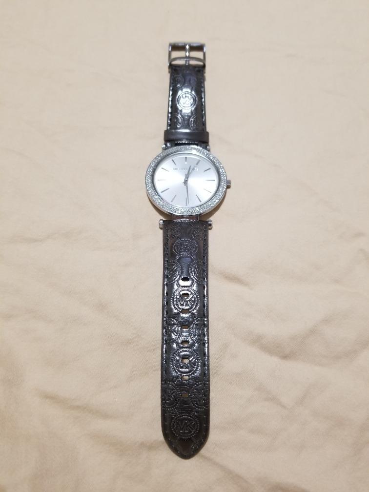 De Piel Y KorsPiedras Michael Swarovski Correa Reloj jLqA435R