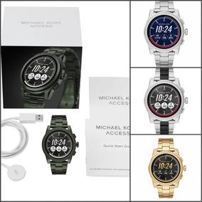 Reloj Michael Kors Plata smartwatch Mk Dorado Negro Mkt5026