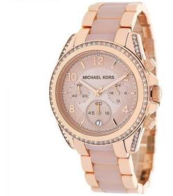 Michael Reloj Dorado Para Mujer Kors Rosa Blair 3Rj5A4Lq