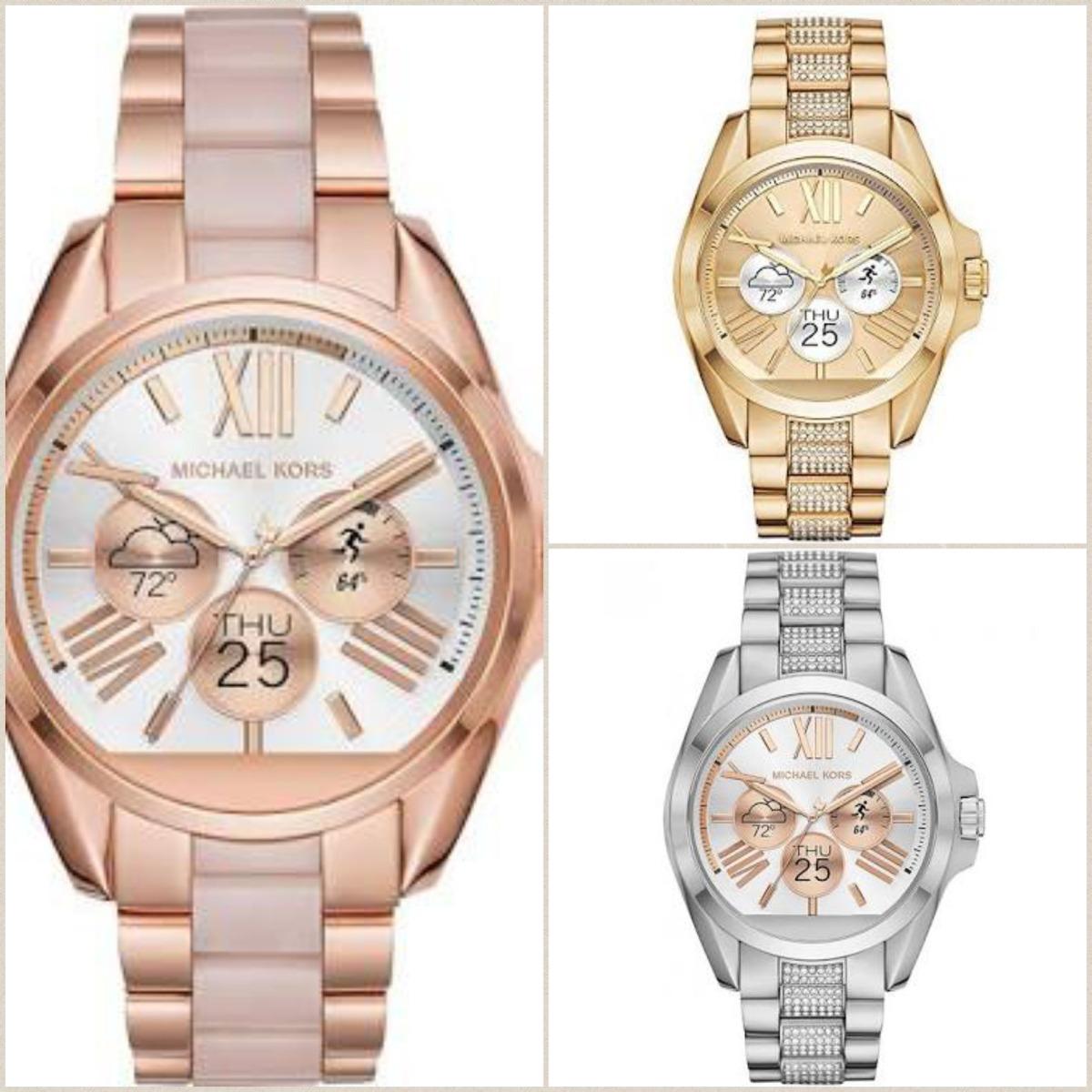 177d07c02263 reloj michael kors rosado  smartwatch mk rose gold mkt5013. Cargando zoom.