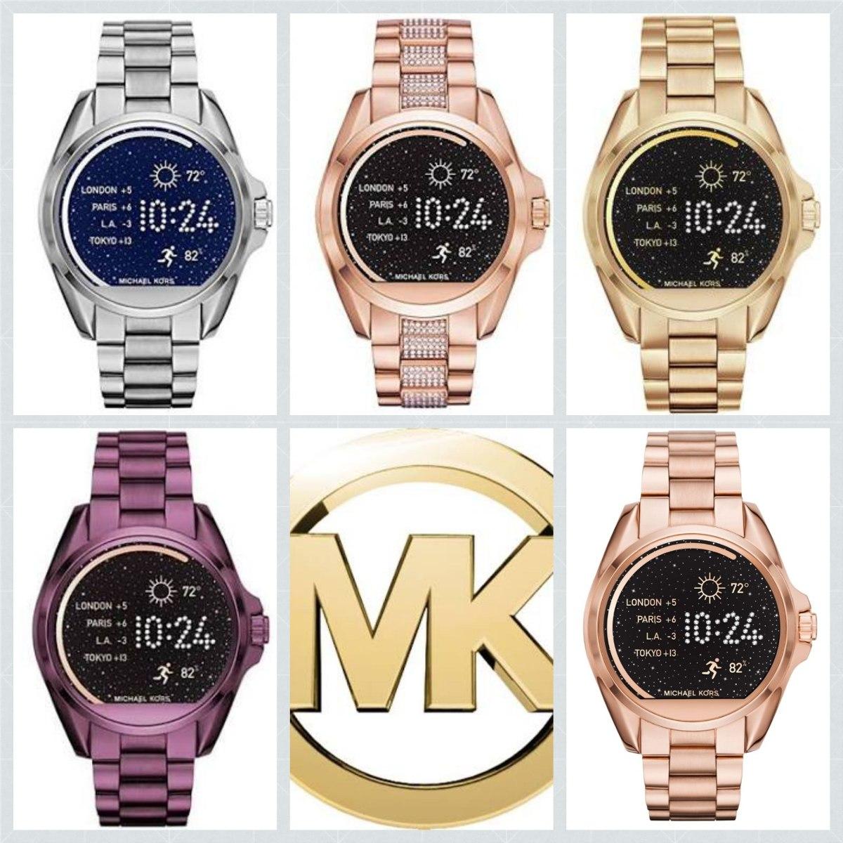 8802d1f0ffba reloj michael kors rosado  smartwatch mk rose gold mkt5013. Cargando zoom.