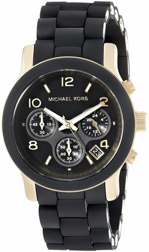 reloj michael kors runway black cat mk5191