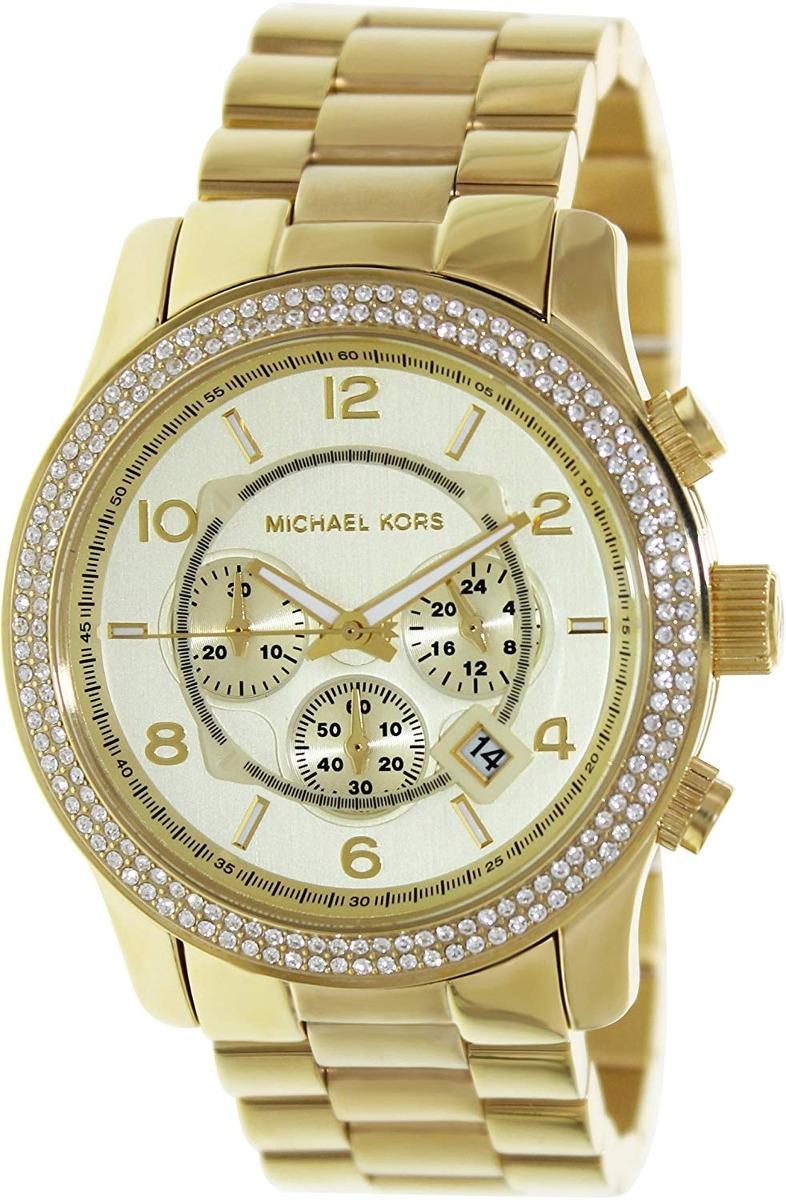 Michael Kors Runway Reloj Mk5575 Cuotas Envío Internacional vn08wmN