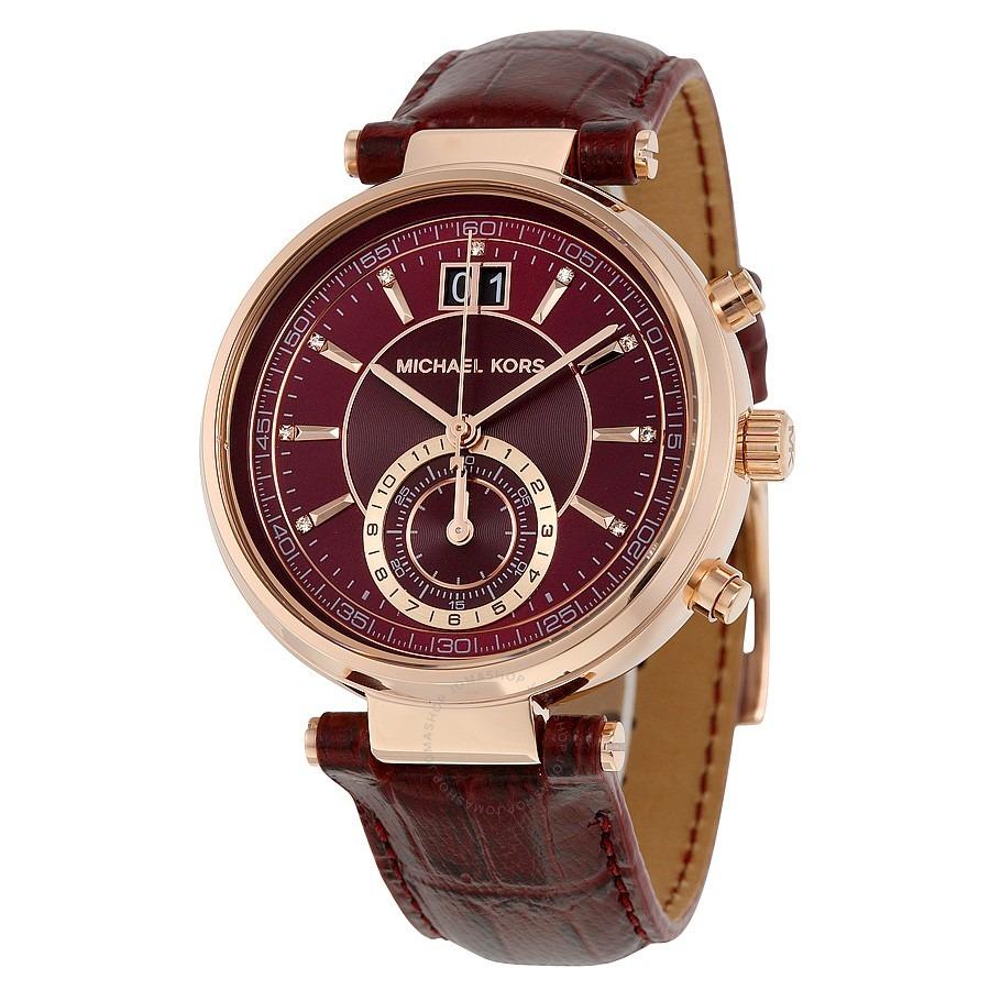 Michael Mk2426 Kors Envío Sawyer Reloj Internacional Y7yfb6gv