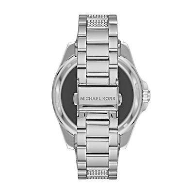 reloj michael kors smartwatch plata extensible con cristales